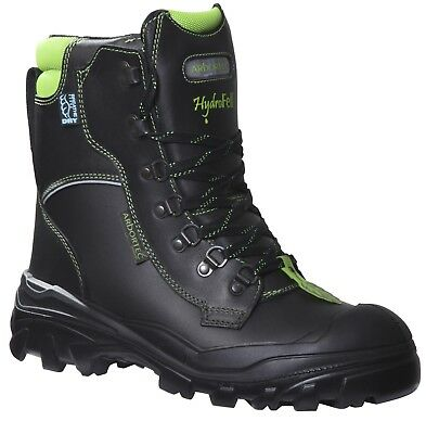 Arbortec Hydrofell Class 2 Forestry Chainsaw Protective Boots Black UK 6 - 12