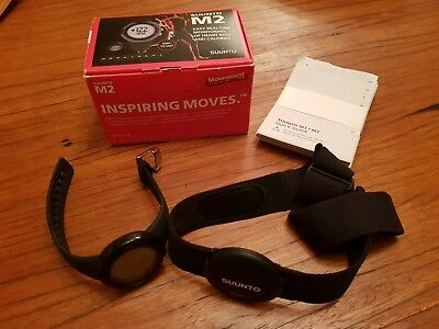Suunto M2 Heart Rate Monitoring Calories New Unused Black