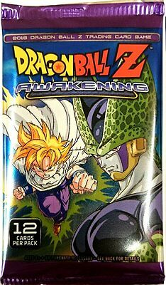 Dragon Ball Z. Awakening Trading Card Game Single Booster Pack New (Aus)