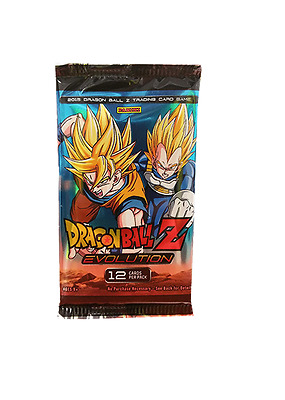 Dragon Ball Z. Evolution Trading Card Game Single Booster Pack New (Aus) Panini