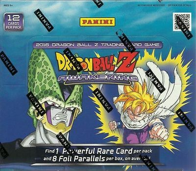 Dragon Ball Z Awakening Booster Box Trading Card Game Full Booster Box Panini