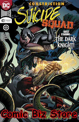 Suicide Squad #43 (2018) 1St Printing Dc Universe Rebirth Bagged & Boarded