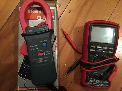 CABAC Multimeter BM525 (Used) logger unit And new Current Clamp T202