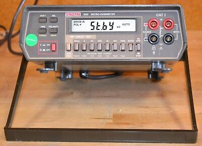 Keithley 580 Micro-Ohmmeter 4.5-Digits, 200mOhm to 200kOhm, w/GPIB GOOD