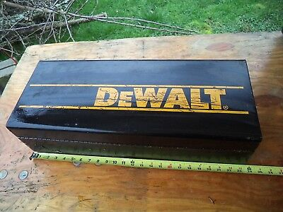 Dewalt Reciprocating Saw Metal Box Only - Case - Steel - Sawzall