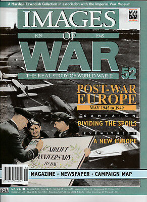 IMAGES OF WAR Magazine Issue 52 - POST WAR EUROPE