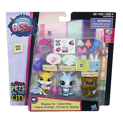 Littlest Pet Shop SHOPPING FUN with Bootsie Russet, Cuddles Fuzzby & Queenie