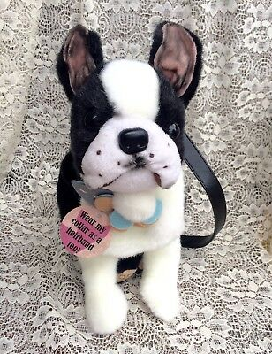 Boston Terrier Purse Puppy At Heart With Tags