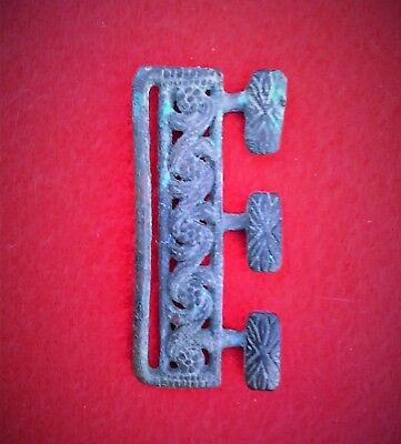 Medieval Buckle Plate or Clothing Fastener