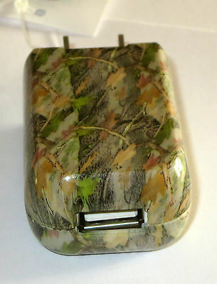 Green Camo USB Charger Universal Home Plug In 110V New Phone Tablet E Reader