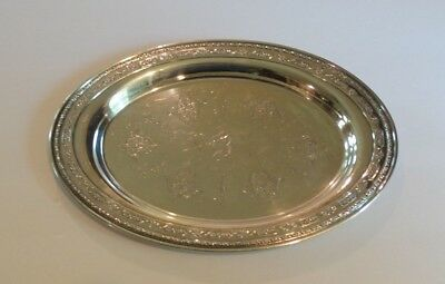 "Towle LOUIS XIV Sterling Silver 10.75"" Oval Tray #98160"