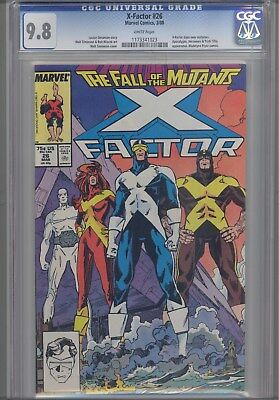 X-Factor #26 CGC 9.8  1986 Marvel Comic: New Costumes KEY Issue: Price Drop!