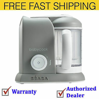 BEABA Babycook 4 in 1 Steam Cooker & Blender and Dishwasher Safe 4.5 Cups Cloud