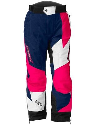 Castle X Fuel SE G6 Youth Girls Snowmobile Pants Navy/Hot Pink MD