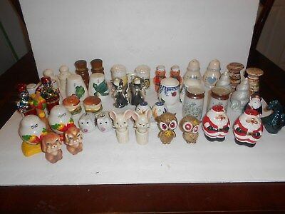 HUGE Lot of Vintage Salt and Pepper Shakers Made in USA/Japan and... ~ 20 Sets