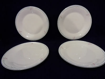 Royal Doulton Carnation Hotelware 4 x Side Plates 17 cm