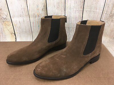 65077ab198b0 Samuel Windsor Men's Prestige Suede Chelsea Boot Brown GG8 Size US:13.5  U51(4