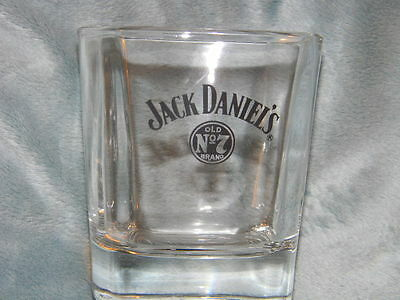 Jack Daniel's glass - Old No. 7 Brand -round logo design on front only