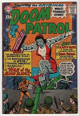 Doom Patrol #97 FN/VF 7.0 higher grade 1965 DC create-a-lot & save