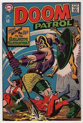 Doom Patrol #116 VF 8.0 high grade 1967 DC create-a-lot & save
