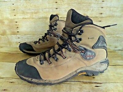 d7eb01cf740 MERRELL PHASER PEAK Waterproof Brown Leather Hiking Work Boots Men's 12