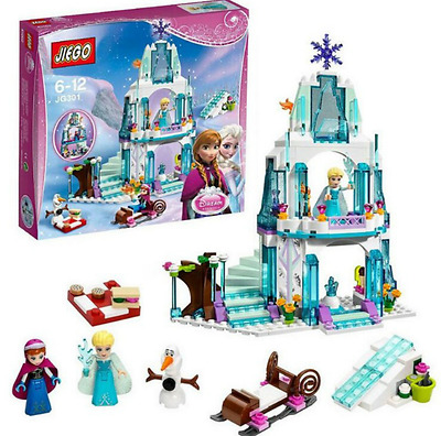 Anna Elsa Building Blocks Castle Brick Toy for Girls Compatible with All Brand