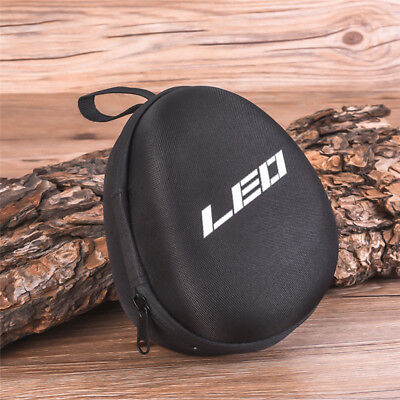 Fishing Reel Protective Bag Wheels Gear Padded Hard Case Pouch Tackle Storage