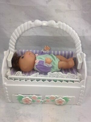 CABBAGE PATCH KIDS 1998 MAGIC NURSERY CRIB-PLAYPEN Includes Doll.