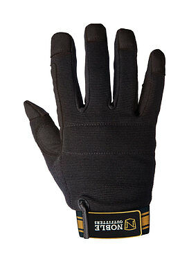 Noble Outfitters Outrider Glove Black/Tan Various Size PR-12295