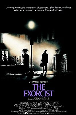 """""""The Exorcist""""...Linda Blair Classic Horror Movie Poster 2 ..Various Sizes"""
