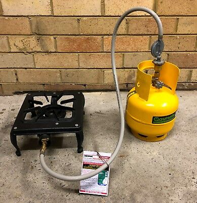 Bromic Camping gas burner and Bottle