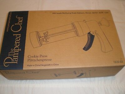 A Pampered Chef Cookie Press . New And Boxed.