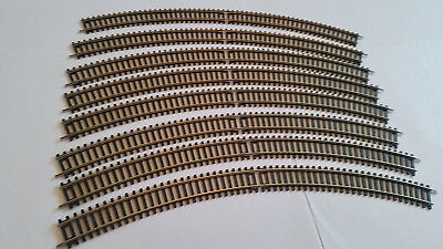 New 8 Sections Hornby R609 3Rd Radius Double Curve Track