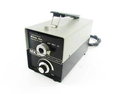 Nikon MKII Fiber Optic Light Source - 115 VAC, 150 W * For Parts *