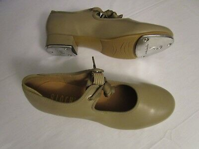 Bloch Women's Size 9 M Dance Tap Shoes Techno Tap Tan
