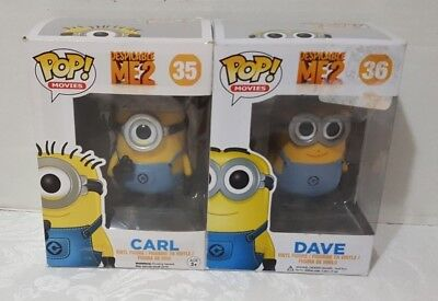 Funko Pop! Despicable Me Carl 35 Dave 36