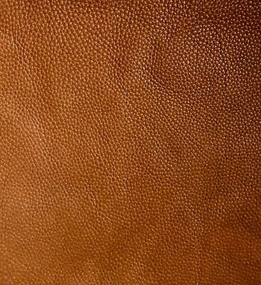 40x15cm Light BROWN LEATHER remnants Very soft cowhide offcuts Full grain 2.5mm