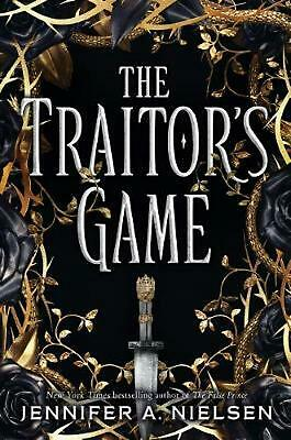 The Traitor's Game by Jennifer,A Nielsen Paperback Book Free Shipping!