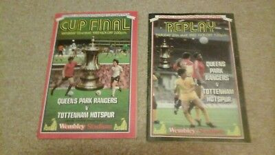 Spurs  v  QPR  1982  FA Cup Final  & Replay