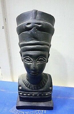 RARE ANCIENT EGYPTIAN ANTIQUE HEAD of Nefertiti Stone (1370 -1330) BC
