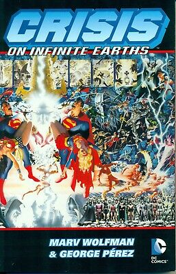 Crisis on Infinite Earths and History of the DC Universe TPB