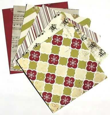 Merry Little Christmas - 6x6 Fancy Pants Design Scrapbooking Paper Pack