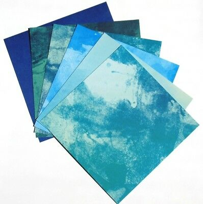 Bright Blue Splash - 6x6 ColorBok Scrapbooking Paper Pack