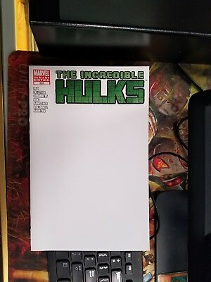 The Incredible Hulks #635 Blank Sketch NM