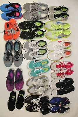 NIKE Lot Wholesale Used Shoes Rehab Resale SEVENTEEN PAIRS! aXkX