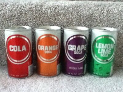 Generic soda cans. Crimpled steel,pull top. Hazelwood, MO