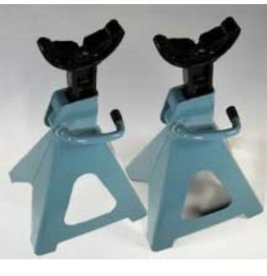 2 New 3 Ton Jack Stand Ratchet Type For Truck Car Van AJ brand new tool Gs