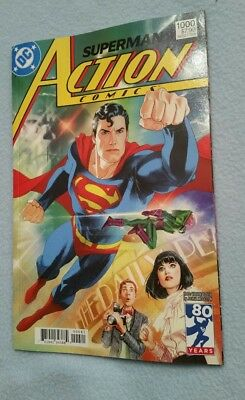 Action Comics #1000 1980's Middleton Variant Cover NM DC Comics 2018