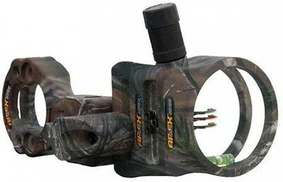 Apex Gear Tundra Bow Sight with Light, 3 Pin (3x.019 dia.), Realtree AP