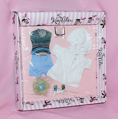 """Tonner 10"""" Tiny Kitty Beach Baby Outfit NIB Fits Simone Rouge"""